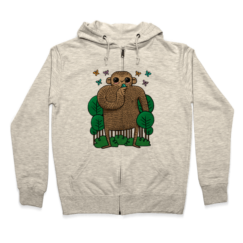 Baby Bigfoot Zip Hoodie