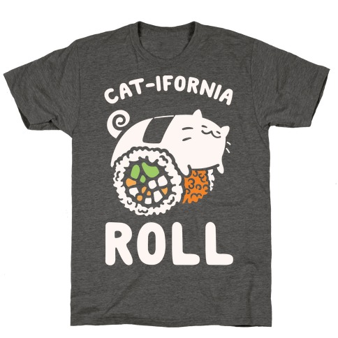 California Cat Roll T-Shirt