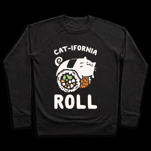 California Cat Roll Pullover