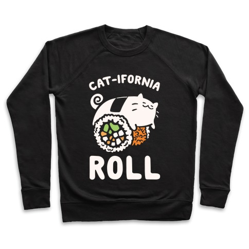 California Cat Roll Pullover