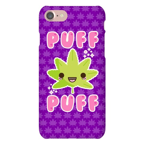 Puff Puff The Kawaii Pot Leaf Phone Case