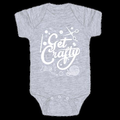 Get Crafty Baby Onesy