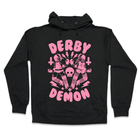 Derby Demon Hooded Sweatshirt