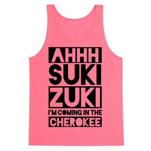 Ahhh Suki Zuki Tank Top