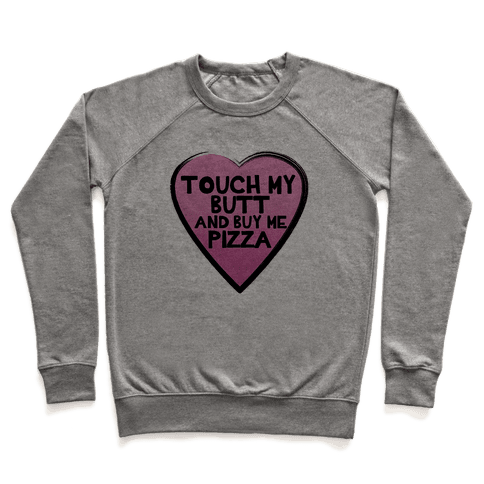 Butts and Pizza Pullover
