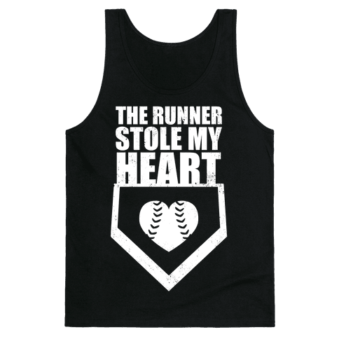 The Runner Stole My Heart (Dark Tank) Tank Top