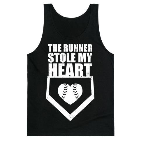 The Runner Stole My Heart (Dark Tank) Tank Top