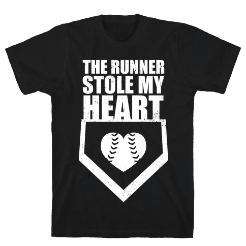 The Runner Stole My Heart (Dark Tank) Mens T-Shirt