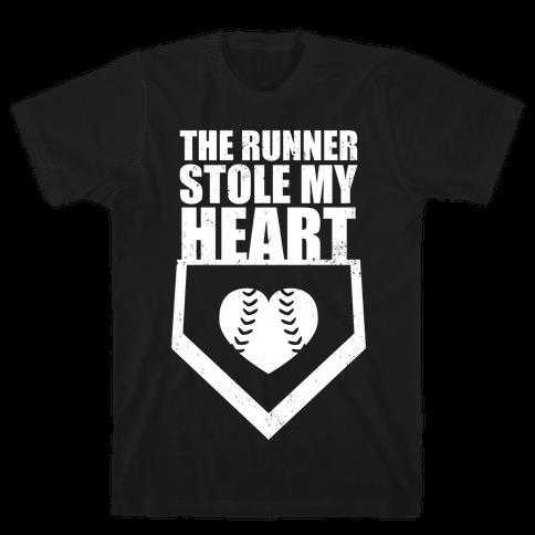 The Runner Stole My Heart (Dark Tank) Mens T-Shirt