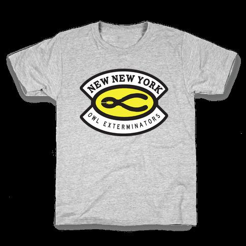 Owl Exterminator Kids T-Shirt