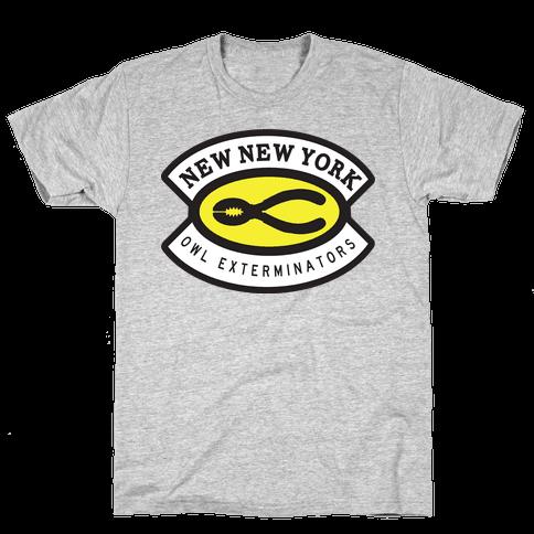 Owl Exterminator Mens T-Shirt