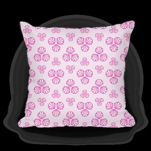 Pink Seashells Pattern