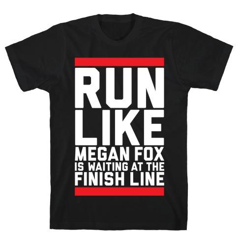 Run For Megan Fox T-Shirt