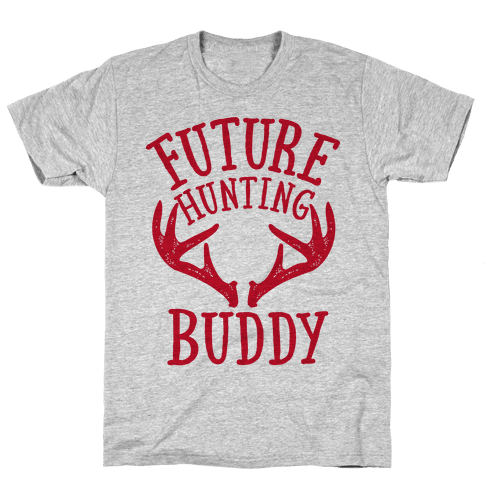 Future Hunting Buddy Mens T-Shirt