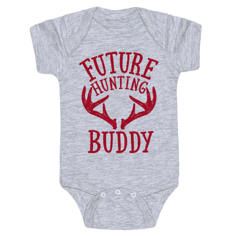 Future Hunting Buddy Baby One Piece Human