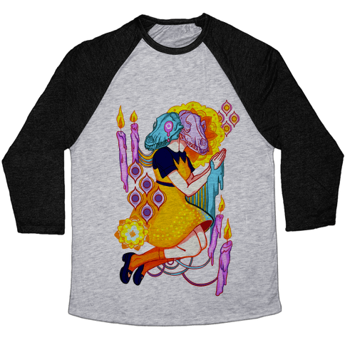Kaleidoscope Prayer Baseball Tee
