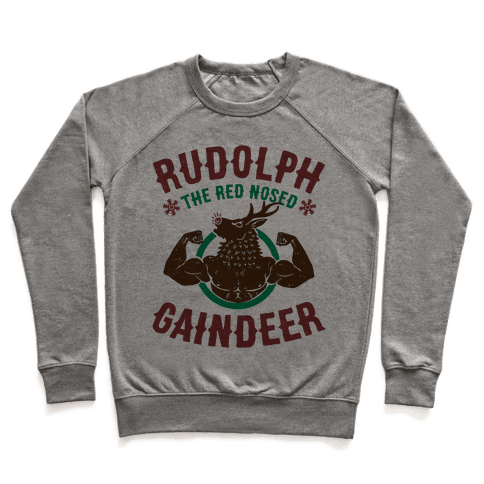 Rudolph The Red Nosed Gaindeer Pullover