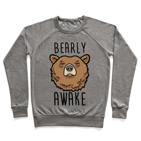 Bearly Awake Pullover
