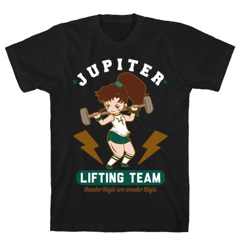 Jupiter Lifting Team Workout Parody T-Shirt