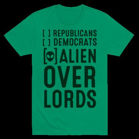 Vote Alien Overlords