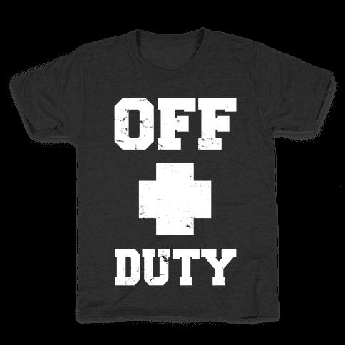Off Duty Kids T-Shirt