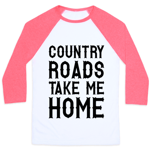 Country Roads Baseball Tee