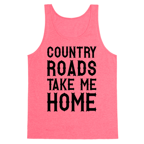 Country Roads Tank Top