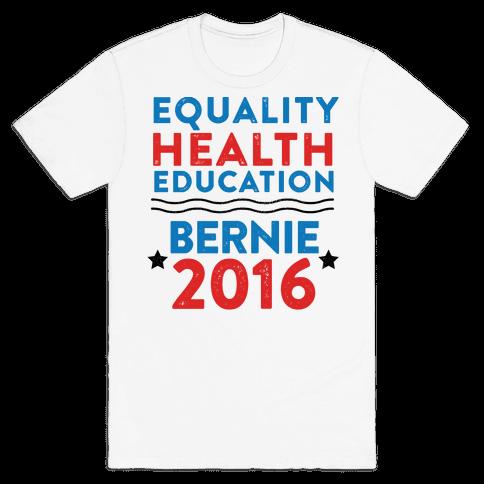 Bernie Sanders 2016 Mens T-Shirt