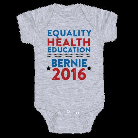 Bernie Sanders 2016 Baby Onesy