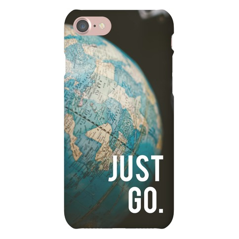 Just Go Phone Case