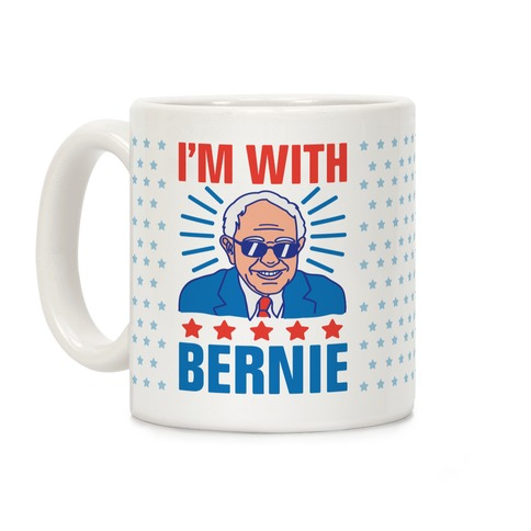 I'm With Bernie Coffee Mug