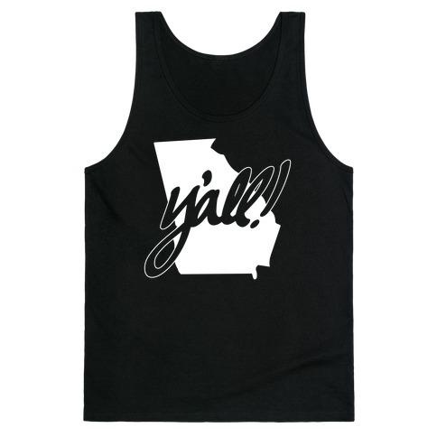 Y'all! (Georgia) Tank Top