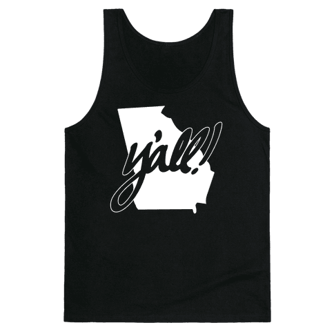 Y'all! (Georgia) Tank Top