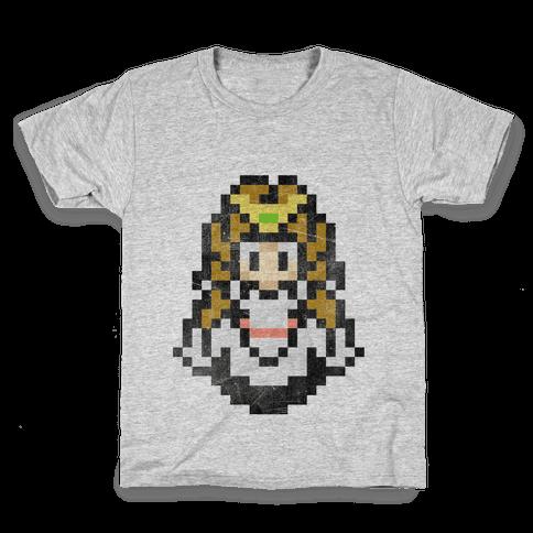 Princess Zelda 8-Bit Kids T-Shirt