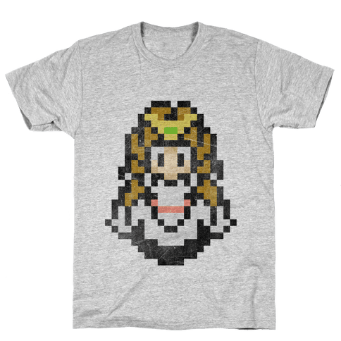 Princess Zelda 8-Bit Mens T-Shirt