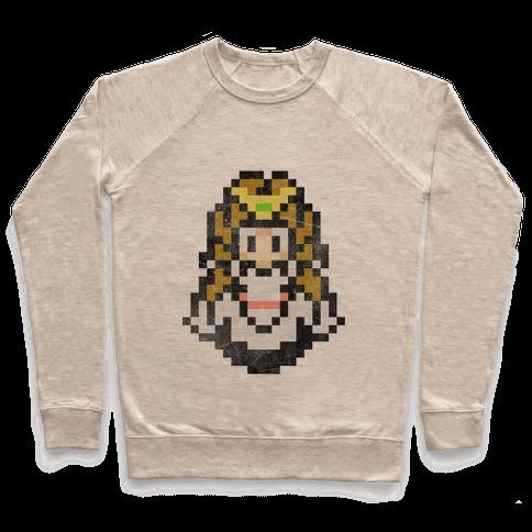 Princess Zelda 8-Bit Pullover