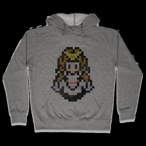 Princess Zelda 8-Bit Hooded Sweatshirt