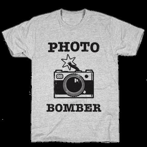 Photo Bomber Mens T-Shirt