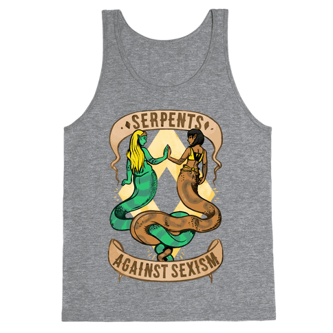 Serpents Against Sexism Tank Top