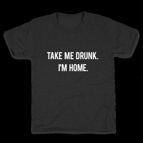 I'm Home Kids T-Shirt