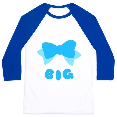 Big Bow (Blue) Baseball Tee