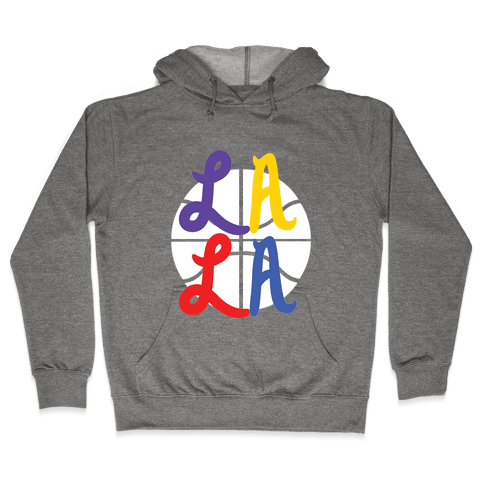 LA LA B-Ball Hooded Sweatshirt