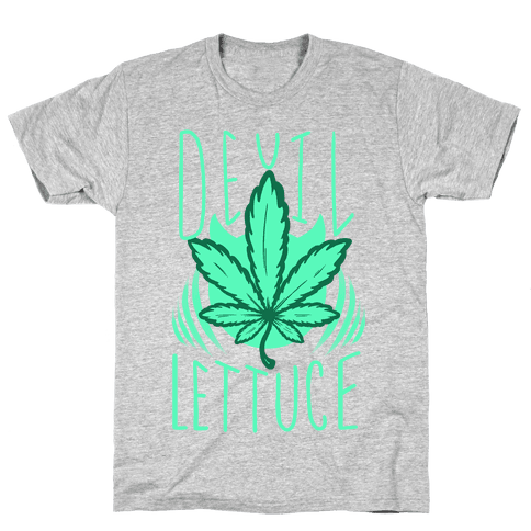 Devil Lettuce Mens T-Shirt