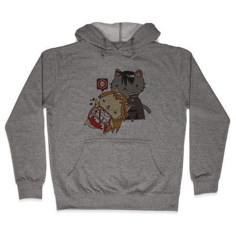 Cat Cosplay Asuna Death Hooded Sweatshirt