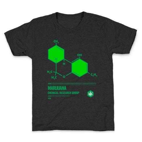 Marijuana Chemical Research Group Kids T-Shirt
