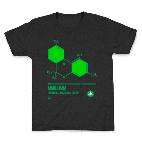 Marijuana Chemical Research Group Kids T-Shirt