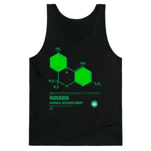 Marijuana Chemical Research Group Tank Top