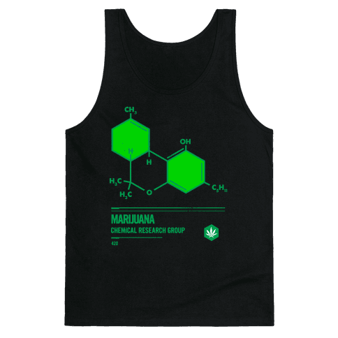 Marijuana Chemical Research Group Tank Top