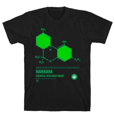 Marijuana Chemical Research Group T-Shirt