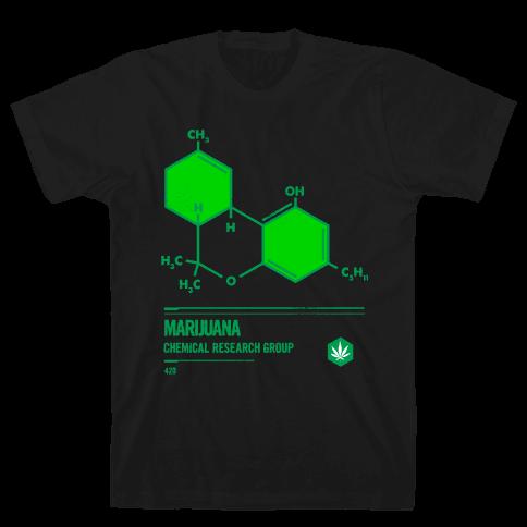 Marijuana Chemical Research Group Mens T-Shirt